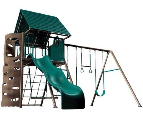 Picture of Lifetime Big Stuff Adventure Play set, Freestanding (Earthtone) (Playsets)