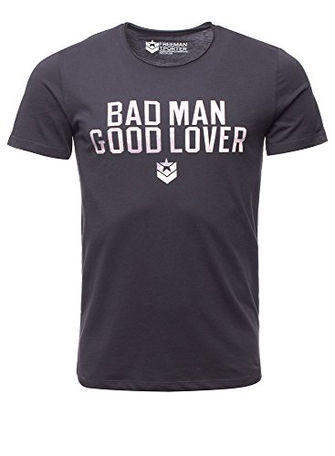 Freeman T. Porter Teis Bad Man - Maglietta Cotton nero L