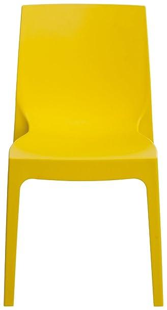 Silla Rome amarilla (conf. 6unidades)
