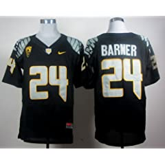 Oregon Ducks #24 Kenjon Barner College Football Jersey