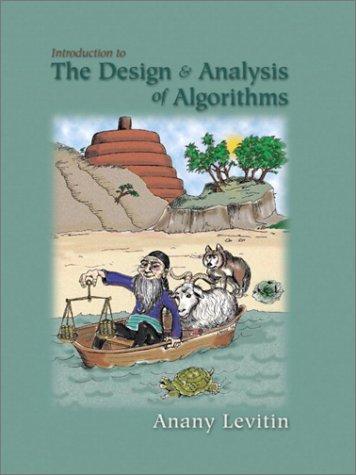 anany levitin 3rd edition pdf