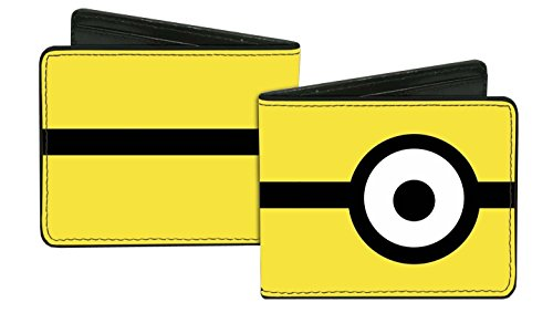 Despicable-Me-Minion-Eye-Bi-Fold-Wallet-Yellow