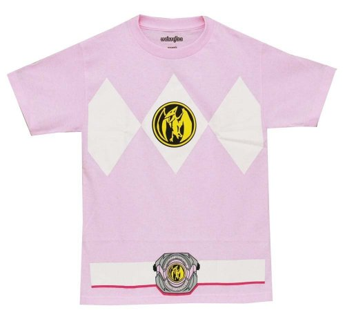 Power Rangers Pink Ranger Mens Costume T-Shirt