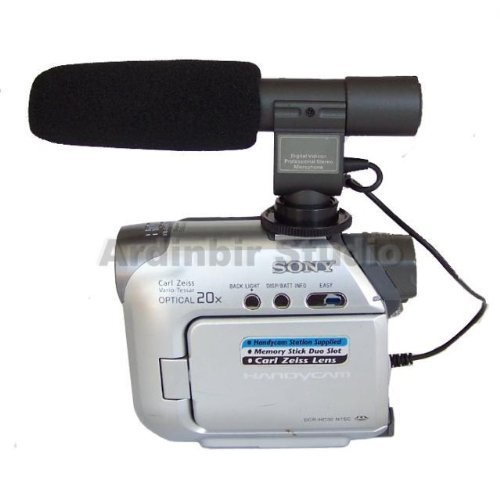 Stereo Video Shotgun Mic Microphone For Jvc Everio Gz-Hd5, Hd6, Hd40, Hd30, Hd10, Hd7, Hd3, Gz-Ms10, Mg555, Gr-X5, Hm400, Hm1, Everio Gy-Hm100U