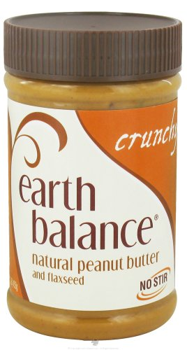 Earth Balance - Natural Peanut Butter And Flaxseed Crunchy - 16 Oz.