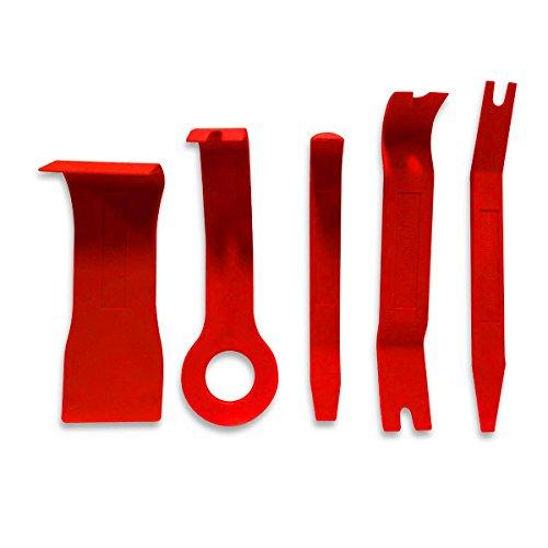 qbace-kit-de-5-outils-en-nylon-pour-finition-automobile-leviers-demontage-rapide-rouge