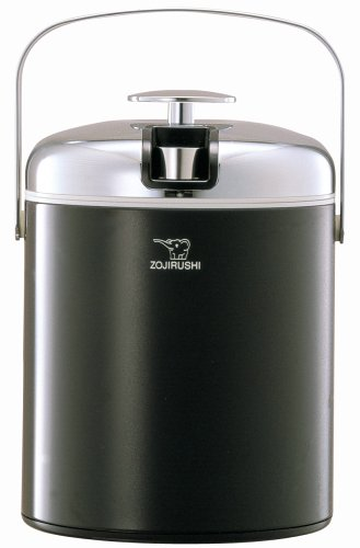 Zojirushi Deluxe Mini Ice Bucket, Black front-550191