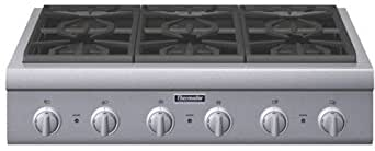 Thermador Professional Series PCG366G 36 Pro-Style Gas Rangetop 6 Pedestal Star Burners