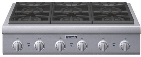 Thermador : PCG366G 36 Gas Cooktop - Stainless Steel