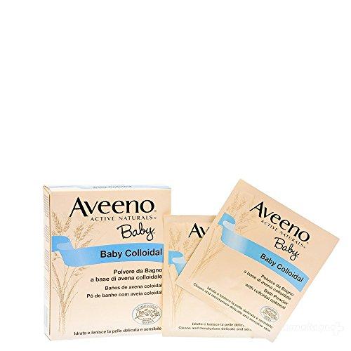 Baby colloidal polvere bagno Aveeno 10x15gr