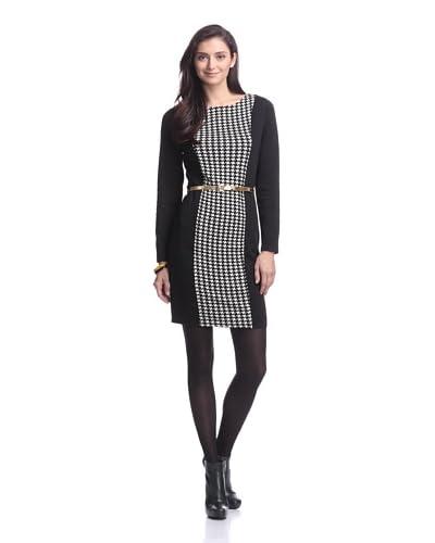 Bacci Women's Belted Shift Dress