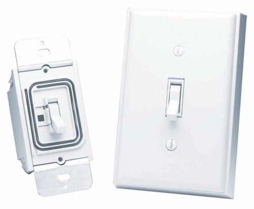 Heath Zenith BL6133WH Basic Solutions Wireless Switch and Wall Switch Picture