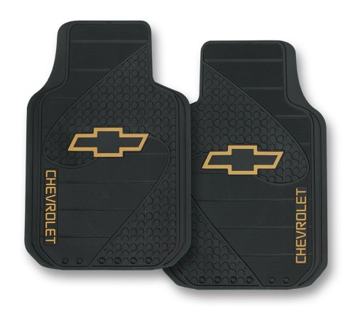 Chevy Factory Style Trim-To-Fit Molded Front Floor Mats - Set of 2