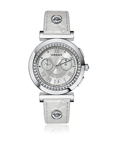 Versace Reloj con movimiento cuarzo suizo Vanity VA9020013 Gris Perla 41 mm