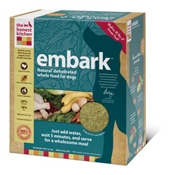 Honest Kitchen Embark, Low Carb Grain-Free Dehydrated Raw Dog Food w/ Turkey, 10lb