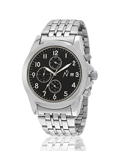 Yepme Men's Chronograph Watch – Black/Silver — YPMWATCH2501