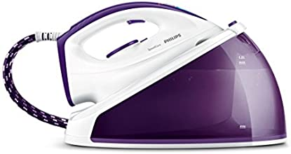 Philips SpeedCare - Plancha con 4,8 bares de presión y 160 g de golpe de vapor, 1,2 l de agua y bloqueo