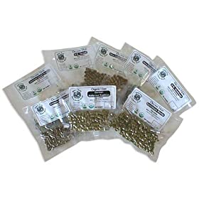 Organic hops selection pack in pellet form. Click to order from Amazon!
