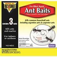 Bonide 45100 Revenge Ant Bait Station-3PK RVNGE ANT BAITS