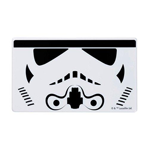 STAR WARS スターウォーズ モバイルバッテリー スマホ充電器 薄型 小型 軽量 3000mAh / Face Icon / Storm Trooper