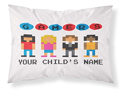 Customizable quot gamer pillowcase personalized with your