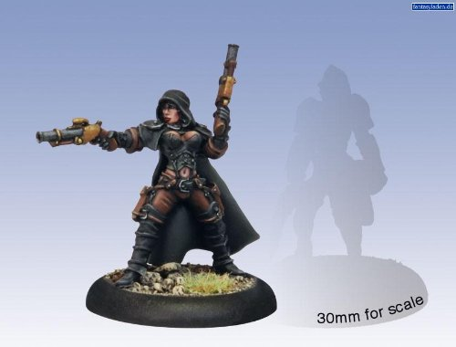 Privateer Press - Warmachine - Mercenary: Taryn Di La Rovissi Model Kit