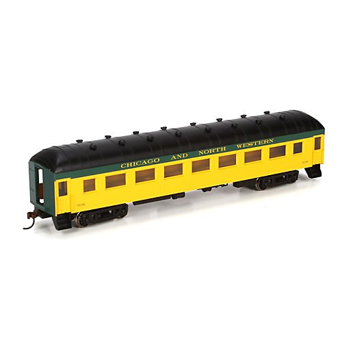 HO RTR Arch Roof Coach,C&NW#3136