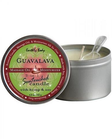 Suntouched Hemp Candle - 6.8 oz Round Tin Guavalava