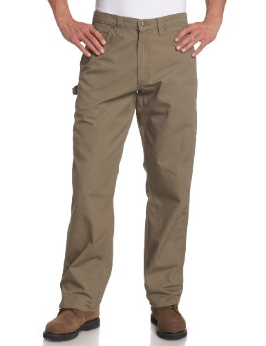 Riggs Workwear By Wrangler Men's Ripstop Carpenter Jean,Bark,36x32 (Duluth Pants compare prices)