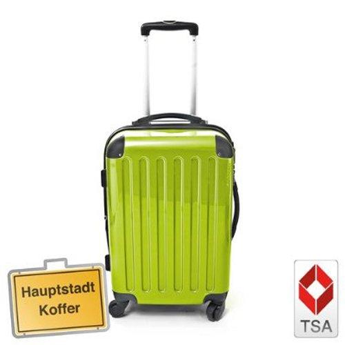 Hartschalen Koffer Apfelgrün Hochglanz max.130