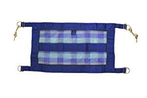 Kensington KPP Stall Guard with Hardware, Blue Ice Plaid, One Size