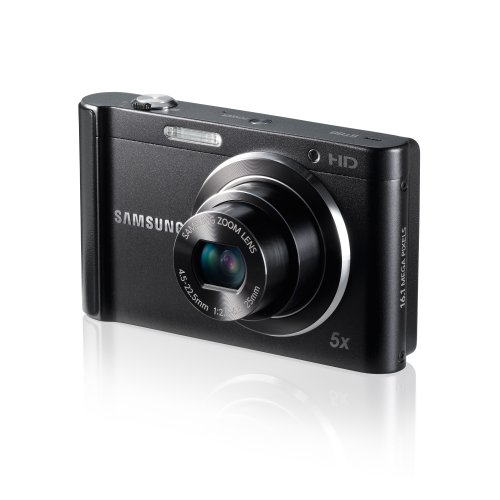 Samsung St88 Digital Camera - 16Mp - 5X Optical Zoom - Black