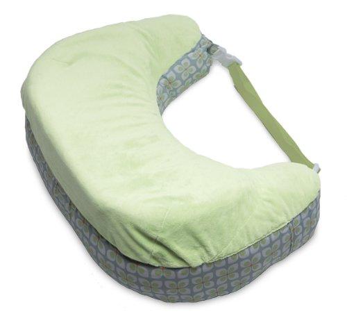 Boppy Two-Sided Breastfeeding Pillow, Pinwheels - 1
