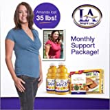 La Weight Loss® Monthly Support Package Monthy Diary, La Takeoff Juice, La Lite Bars