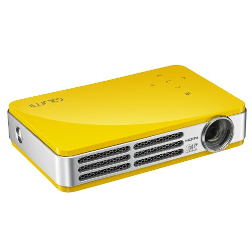 Vivitek qumi q5 500 lumen wxga hd 720p hdmi 3d ready for Pocket projector dlp