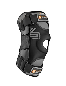 Shock Doctor Ultra Knee Supporter with Bilateral Hinges (Black) by Shock Doctor