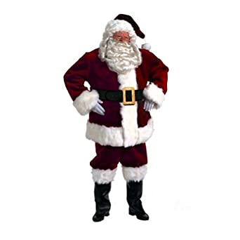 Halco Majestic Santa Suit Mens Christmas Xmas Holiday Outfit Costume