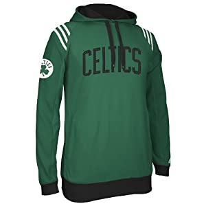 Boston Celtics Adidas 2013 NBA 3 Stripe Pullover Sweatshirt by adidas