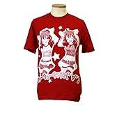☆数量限定品☆EXIT TUNES ウッーウッーウマウマ(゜∀゜)Tシャツ レッド:Mサイズ