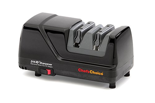 Chef's Choice 315 XV Professional Diamond Hone Electric Knife Sharpener, Black