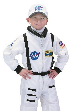 Astronaut Suit White (8-10)