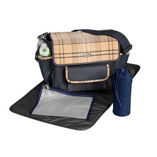 Evenflo Comfi Traveler Diaper Bag in Laxford Walnut