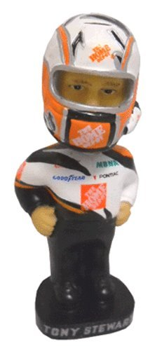 Nascar Tony Stewart Mini Bobblehaed Doll Bobble Dobbles 2002 Edition