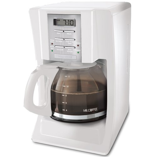 Mr. Coffee SJX20 12-Cup Programmable Coffeemaker,