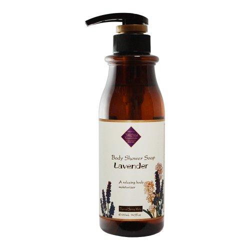 Jーアロマシャワーソープ フレッシュな天然の香りとやさしい泡立ちでアロマテラピーが楽しめる ラベンダー