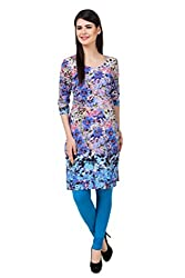 Kurti Collection pure cotton digitally printed abstract pattern ethnic kurti fabric material (Unstitched)