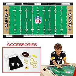 NFLR Licensed Finger FootballT Game Mat - Saints. Product Category: Toys & Games > Finger FootballT > NFL NFC