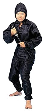 カラー忍者スーツ ブラック