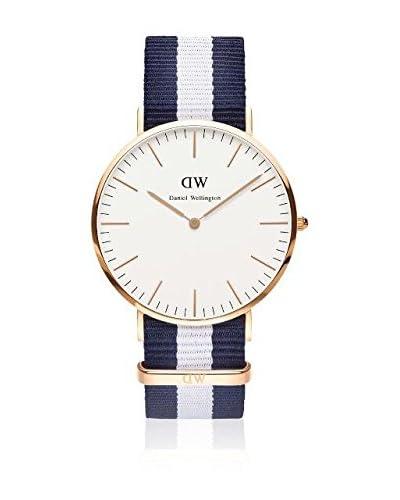 Daniel Wellington Reloj con movimiento cuarzo japonés Man Glasgow blanco/gris 40 mm