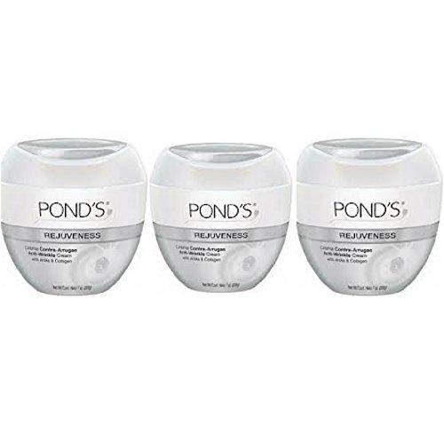 Pond's Rejuveness Anti-Wrinkle Cream Travel Size 1.75 oz. Jar (Pack Of 3) (Ponds Anti Wrinkle Cream compare prices)